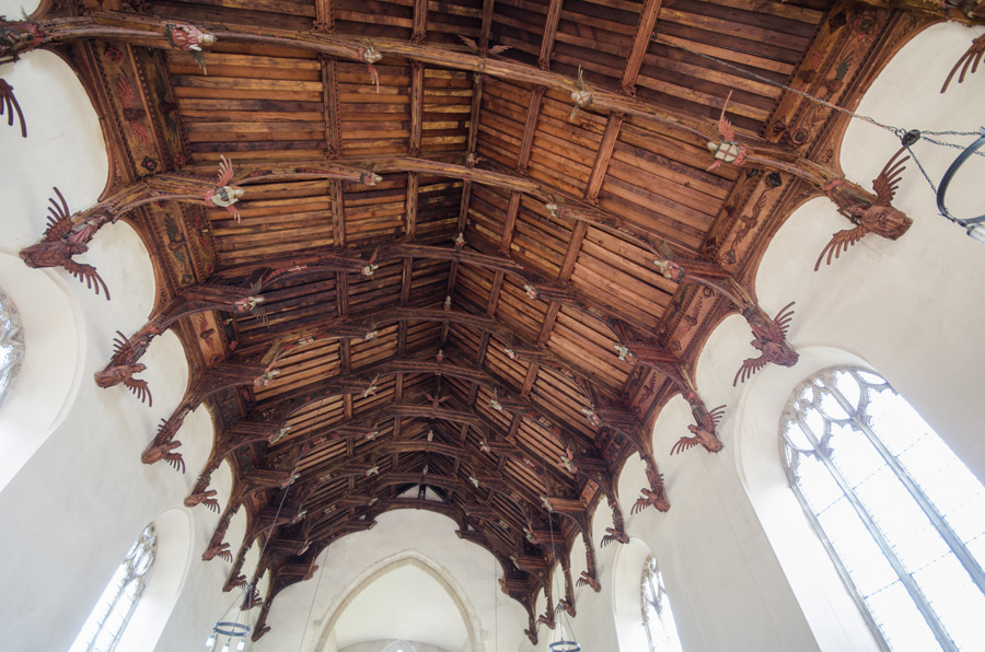 gallery_churches_37b_Double_Hammer_Beam_Roof_St_Peter_and_St_Paul_Knapton